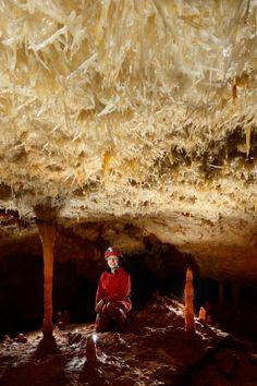 Crystal Cave Selenite Crystal Caves Pinterest Caves - Minecraft die grobten hauser
