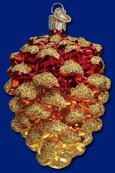 Forest Cone, Glass Ornaments from Old World Christmas #glass #ornaments #Christmas