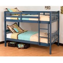 Storkcraft Caribou Twin Over Twin Bunk Bed Mountain House