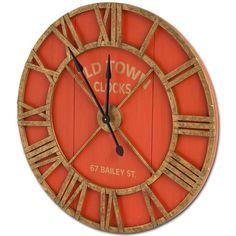 """Found it at Joss & Main - Bolival II 36"""" Wall Clock"""