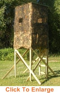 1000 Images About Deer Hunting Blinds On Pinterest