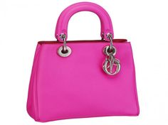 "Mini ""Diorissimo"" in bright pink. #Handbag #Purse"