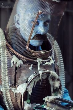 "Mr. Freeze #Steampunk (Batman) at ""Barcelona by Gaslight"" cosplay event."