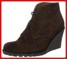 Jane Klain Damen Stiefelette Cowboy Stiefel, Braun (450 Cognac), 39 EU