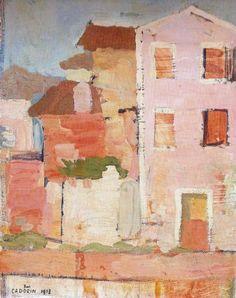 Case di Pellestrinaby Guido Cadorin (1892-1978)