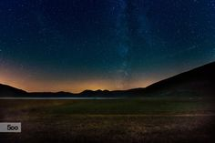 Sibillini's sky by mauro maione on 500px