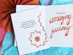 An Amazing Journey #mummumcards