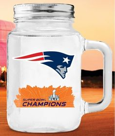 Nothing like drinking lemonade out of your 2015 Super Bowl Champion New England…