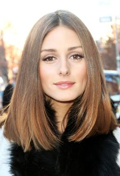 Olivia Palermo's Fashion Week hairstyle - Straight hairstyles