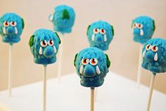 Woolly Cake Pops
