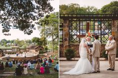 Avondale Ampitheatre wedding ceremony