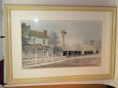 Steve Polomchak Amish Watercolor Painting Crown Point Indiana Artist