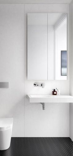 T.D.C | : DKO: Carlton Home perfect minimal black and white bathroom