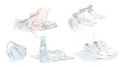 GANT håll dina vita sneakers vita
