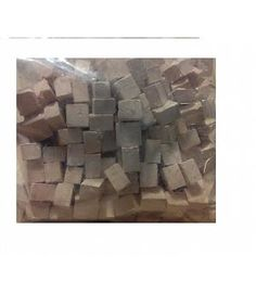 1kg piedra cuadrada blanca miniatura para maquetas. CUIT 2972K