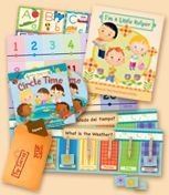 Mother Goose Time - Preschool In a Box. A fun preschool program delivered to your home (or center) on a monthly basis. You can order for only one child if you wish and for as short as one month. Comes with all the lesson plans, posters, art activities and music. Optional toy boxes available for most months as well.