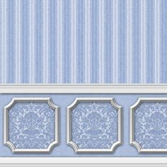 Wallpaper+-+Annabelle+Wainscot+Mural+Blue+Serenity+[WAL2601]+-+$0.00+:+itsy+bitsy+mini,+Wholesale+&+Retail+Dollhouse+Wallpaper+&+Accessories
