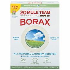 20 Mule Team Borax Natural Laundry Booster & Multi-Purpose Household Cleaner, 76 oz