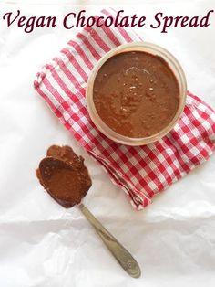 Vegan Chocolate Spread (with coconut oil)