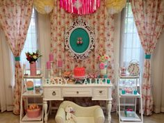 Vintage Shabby Chic Baby Shower