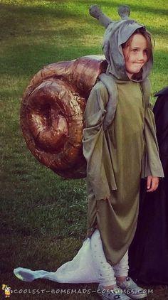 snail halloween costume