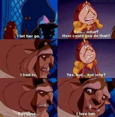 Beauty and the beast :)
