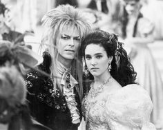 David Bowie and Jennifer Connelly