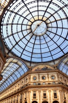 Galleria Vittorio Emanuele II, Milan  - HarpersBAZAAR.com