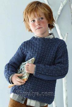 OLAGENSER strikkes i Phil Cage - garantert kløfritt! Knitting For Kids, Sarees, Baby Boy, Men Sweater, Turtle Neck, Pullover, Portrait, Children, Crochet