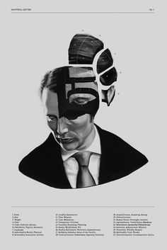 """Hannibal Lecter Phrenology"" Posters by daysandhours 