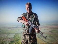 51-Year-Old Actor Michael Enright Joins Kurdish Militia to Fight ISIS michael_enright