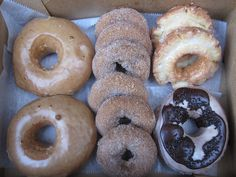 Doughnut Vault, Chicago.     . Wow Food!!!  My Chicago team always gets these when I visit.  I could not dream of doughnuts better than these.  So gorgeous, so huge and soooo delicious!