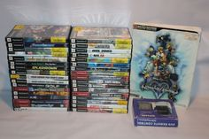 Playstation 2 Games Lot of 35 Kingdom Hearts Ty Jak Lego COD PS2 DVD Remote #Playstation