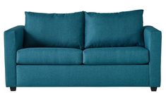 The Westminster 2 Seater Fabric Sofa Bed flaunts a refined and slimline design, perfect for compact spaces that are craving a colour boost. A warm aquamarine fabric oozes a polished yet preppy aesthetic that is destined for a fun-loving setting. Sofa Bed, Couch, Harvey Norman, Fabric Sofa, Westminster, Love Seat, Lounge, Room, Stuff To Buy