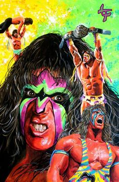 Many years ago, I had the honor and thrill of meeting the Ultimate Warrior at the San Diego Comic Con. Wrestling Posters, Wrestling Divas, Warriors Wallpaper, Thing 1, Wwe Champions, Wwe Wrestlers, Wwe Superstars, Cool Pictures, Superhero