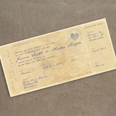 vintage traveling style wedding  | do it yourself: something new: boarding pass invitations