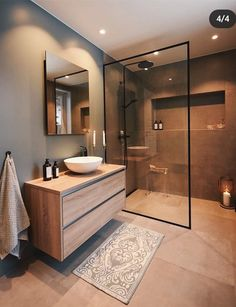Ideas Bathroom Remodel Shower Design Toilets For 2019 Bathroom Design Luxury, Modern Bathroom Design, Modern House Design, Bathroom Design Layout, Minimal Bathroom, Bathroom Designs, Home Room Design, Dream Home Design, Toilet Design