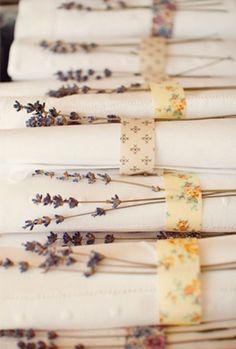 Lavender & Table Settings