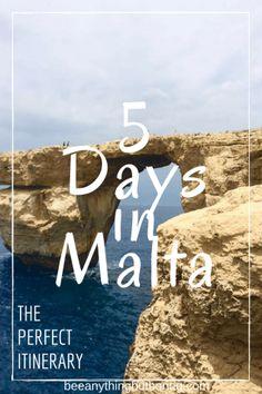 Malta, Malta Travel Itinerary, Malta Travel Tips, Things to See in Malta, Gozo, Comino, Blue Grotto, Blue Lagoon, Valletta, Where to Stay in Malta, Sliema, What to Eat in Malta, Shopping in Malta