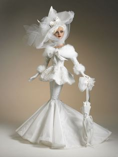 Not Barbie - but a gorgeous Robert Tonner doll.