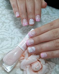 Lindas. 😍😃 Cute Nails, Pretty Nails, Summer Toe Nails, Unicorn Nails, Finger, Toe Nail Art, Bling Nails, Cute Nail Designs, Creative Nails