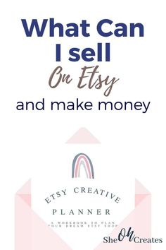 What Can I Sell, Make And Sell, How To Make, Make Money From Home, Way To Make Money, Making Money On Etsy, Etsy Business, Online Business, Opening An Etsy Shop