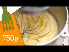 Recette de la Crème au beurre maison - 750 Grammes - YouTube