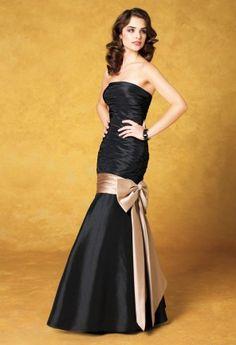 Camille La Vie Bow Wrapped Taffeta Prom Dress - Style # 41770/5060F