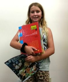 Fizz - Boom - Read! Dalysa's summer reading program is up and running!