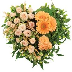 Floral Tributes | Hearts and Crosses | Funeral Flowers
