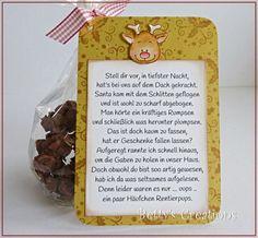 'Reindeer Poops' sieht man ja ganz oft auf amerikanischen Blogs. Dieses Jahr habe ich sie jetzt auch vermehrt in deutscher Version gesehen....
