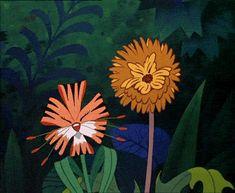 gif - lovey tiger lily and dandelion flowers from alice in wonderland Alice In Wonderland Flowers, Alice In Wonderland Characters, Alice In Wonderland 1951, Wonderland Party, Disney Love, Disney Magic, Disney Pixar, Walt Disney, Disney Tattoos