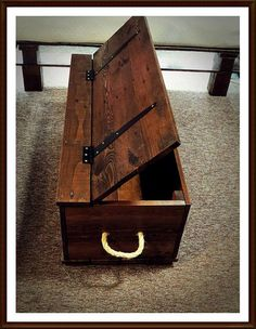 Medium Trunk/Chest  - Handmade using Pallet Wood on Etsy, £105.00