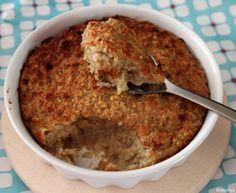 Gebakken havermout: een heerlijke havermout ontbijtje uit de oven. Baked oats!